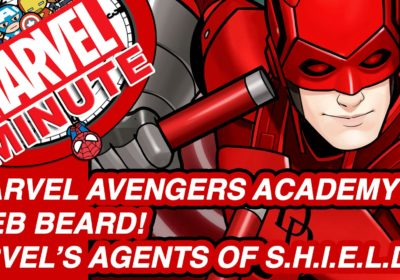Marvel Avengers Academy! Web Beard! – Marvel Minute 2016